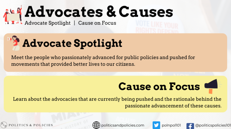Advocates & Causes - Learn about the Society