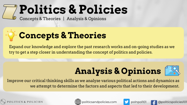 Politics & Policies - Learn about the State and Government